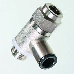 válvula de retención para aire comprimido / de níquel / de muelle