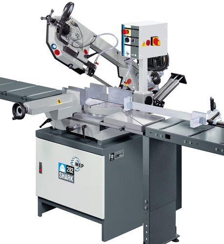 sierra de cinta / para metales / horizontal