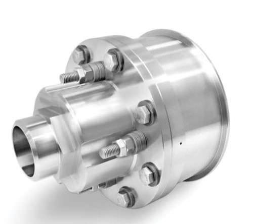 racor giratorio para vapor / de alta temperatura / de acero inoxidable