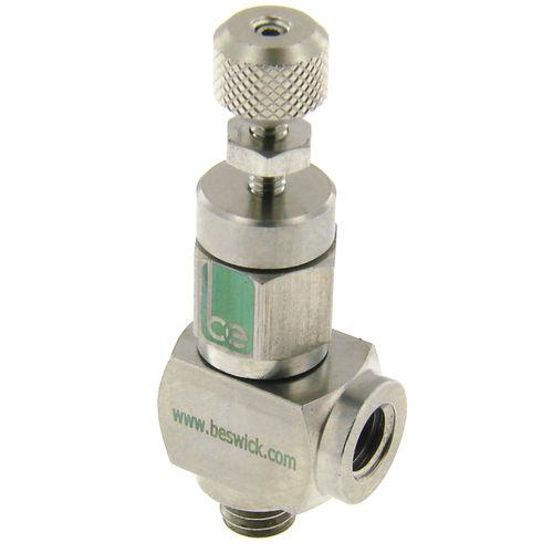 válvula de aguja / manual / de control de caudal / dosificadora