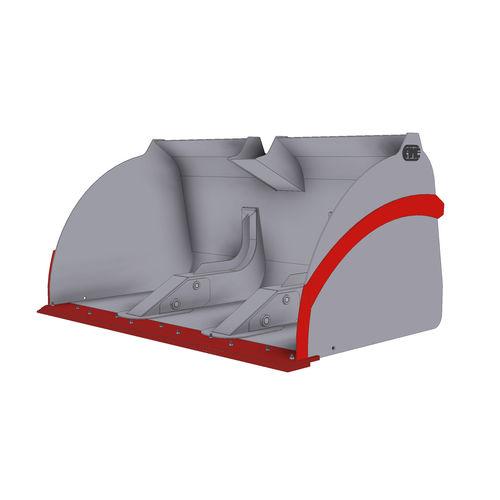 cuchara estándar / para minicargadora / para material ligero / descarga elevada