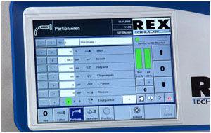 HMI de control / con pantalla táctil / empotrable