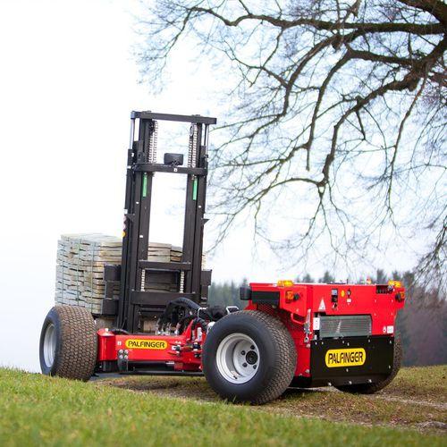 carretilla elevadora diésel / con operador a pie / de manipulación / montada en camión