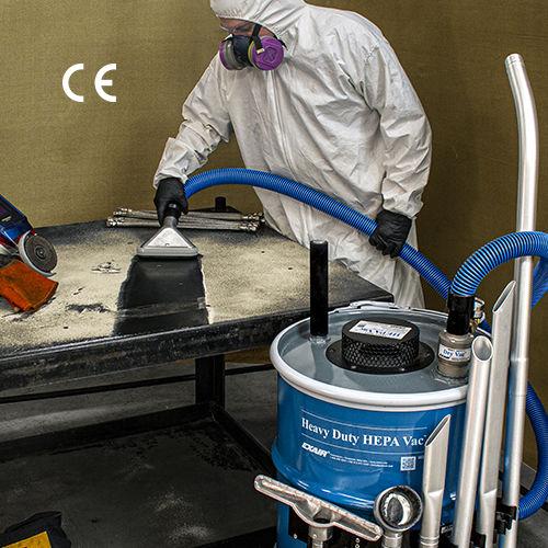 aspirador de polvo / industrial / con filtro HEPA