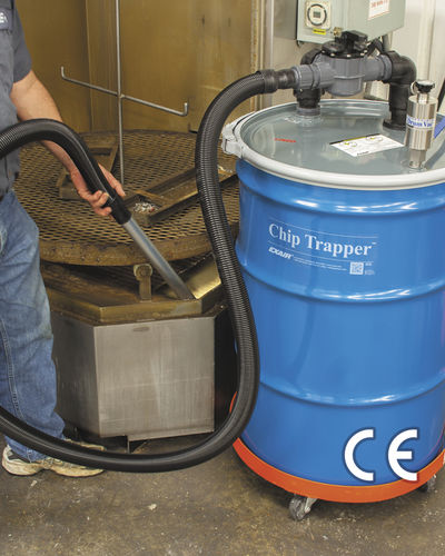 aspirador de líquidos / de aire comprimido / industrial / móvil