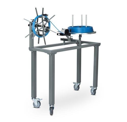 enrollador-desenrollador para cables / de bobinas / de material en forma de banda / manual