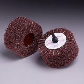 cepillo cilíndrico / de acabado / con eje / en miniatura
