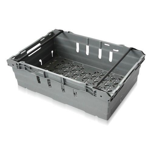cajón de polipropileno / para almacenamiento / apilable / reforzado
