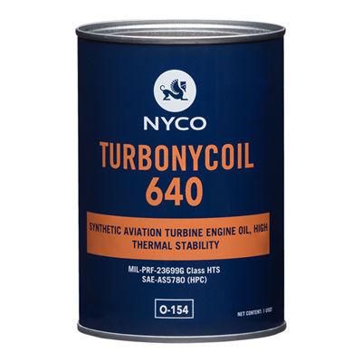 aceite de lubricación / sintético / para turbina / para motor de avion