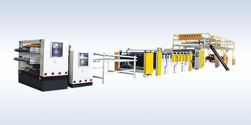 línea de producción de cartón