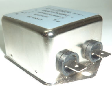 filtro electrónico monofásico / paso banda / pasivo / bifásico