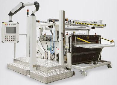 cortadora rebobinadora modular / para uso polivalente / para papel / compacta