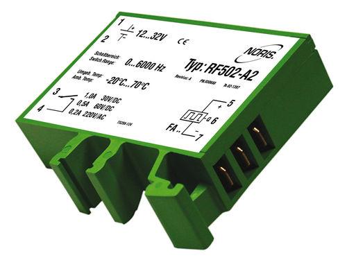 relé de vigilancia de frecuencia / 1NA / ajustable / compacto
