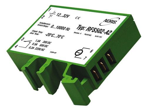 relé de vigilancia de frecuencia / ajustable / compacto / para motor eléctrico