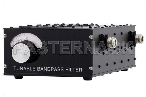 filtro electrónico sintonizable