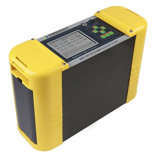 analizador de dióxido de carbono / de oxígeno / CO / CH4