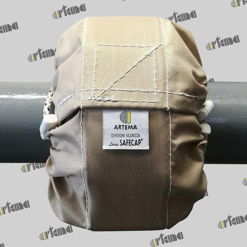 funda de protección / abrible / para tubos / fibra de vidrio