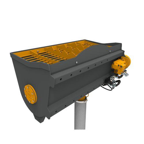 cuchara mezcladora de hormigón / para minicargadora