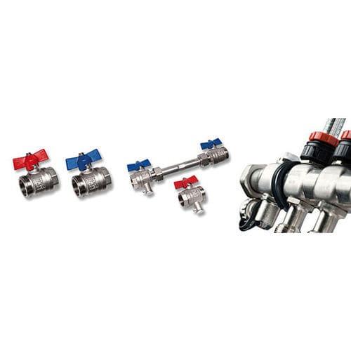 manifold multivía / de acero inoxidable / para circuito de termorregulación