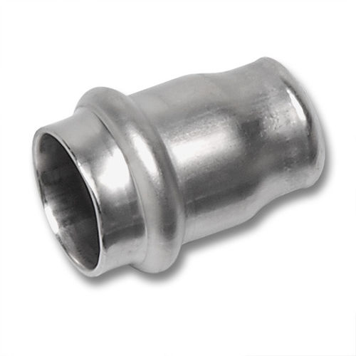 capuchón de extremo press fit / redondo / de acero inoxidable / para tuberías