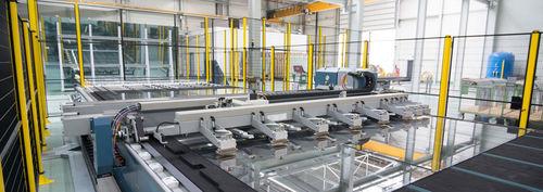 máquina de corte para vidrio / láser / CNC / de formas