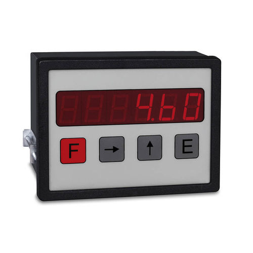 visualizador LED / de 6 dígitos / RS-232 / de posición