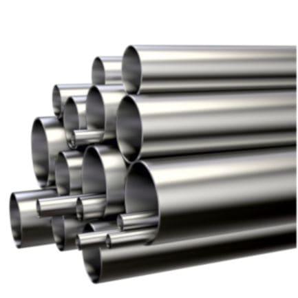 tubería rígida de acero / para aire / para extracción de humo / lisa
