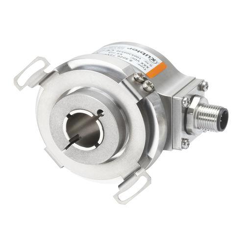 encoder rotativo incremental / óptico / RS-422 / de eje hueco