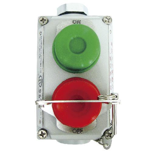 caja de botones start/stop / de 2 botones / IP65 / antideflagrantes