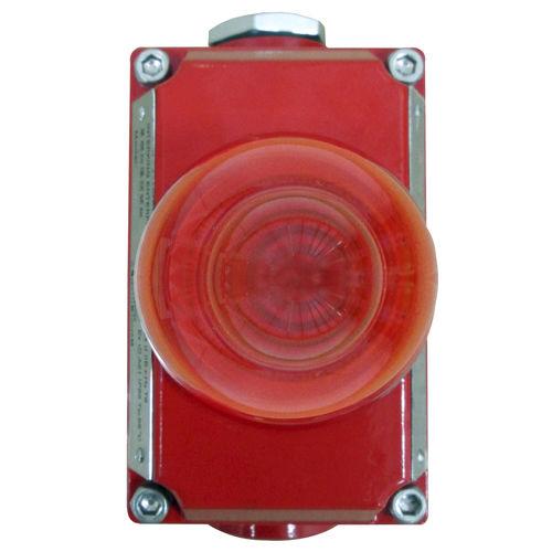indicador luminoso de alarma / permanente / LED / roscado