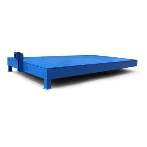 semiremolque para carga pesada / de 2 ejes / para máquinas / para equipamiento industrial