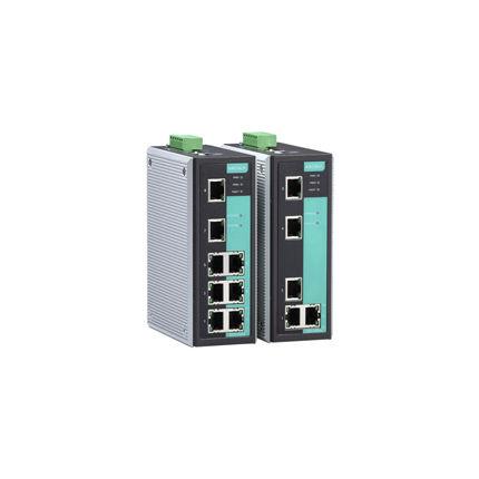 conmutador Ethernet administrable / 8 puertos / industrial