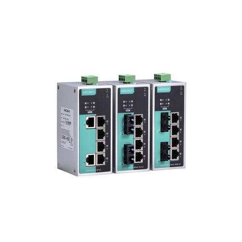 conmutador Ethernet no administrable / 6 puertos / PoE / redundante