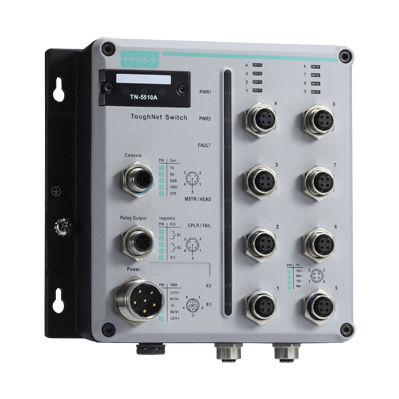 conmutador Ethernet administrable / 12 puertos / gigabit / redundante
