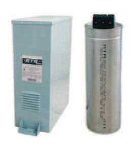 condensador eléctrico de película / encapsulado / de potencia / trifásico