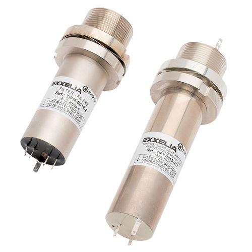 filtro electrónico paso banda / pasivo / para linea de mando