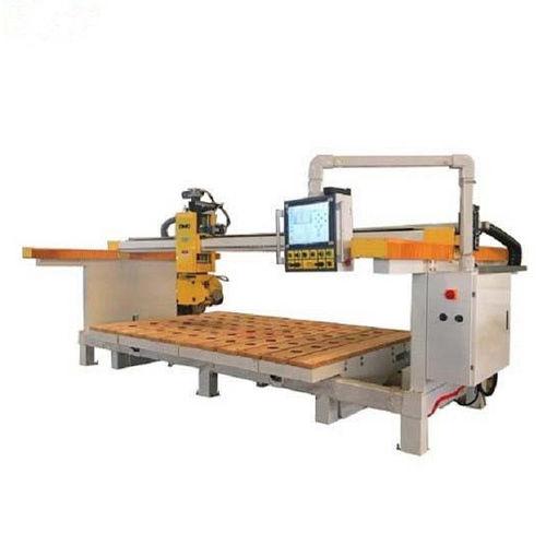 máquina de corte 5 ejes / para granito / para mármol / de hoja rotativa