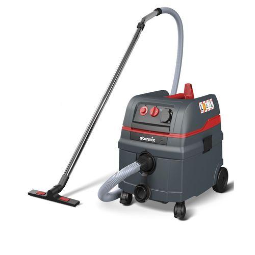 aspirador de agua y polvo / eléctrico / para el sector de la construcción / móvil