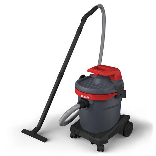 aspirador de agua y polvo / eléctrico / móvil / compacto