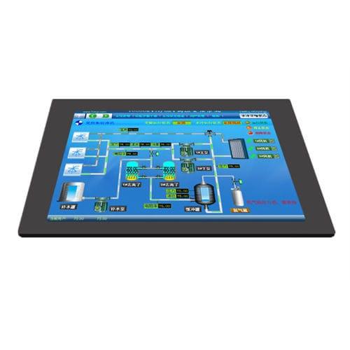 panel PC de LCD / con pantalla táctil resistiva / 15