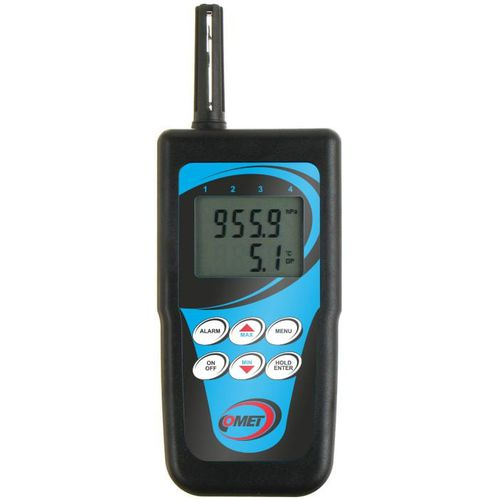 termo-higrómetro digital / de mano / temperatura / a punto de rocío