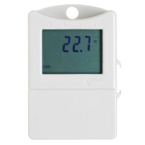 termómetro con adquisición de datos / digital / USB / electrónico
