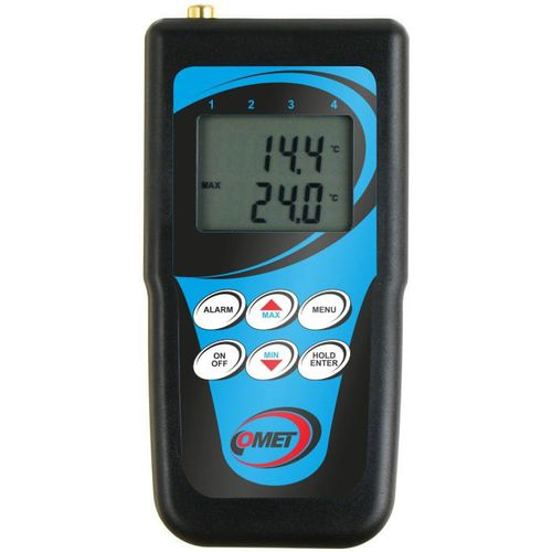 termómetro RTD / digital / portátil