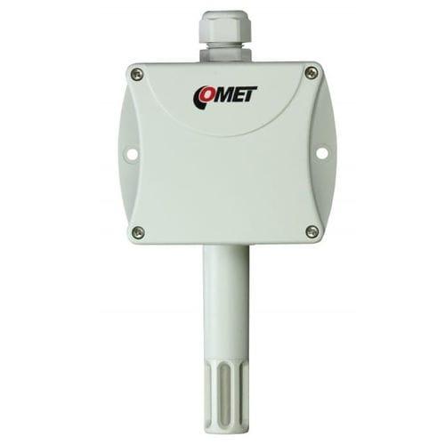 sensor de temperatura y de humedad relativa / encastrable