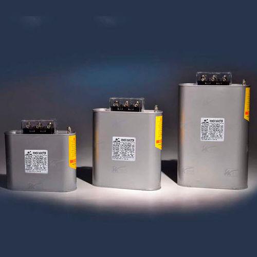 condensador eléctrico de película de polipropileno metalizado / montado en poste / de potencia / PFC