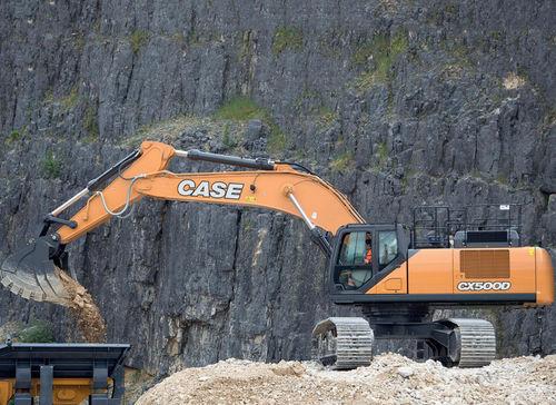 excavadora de grandes dimensiones