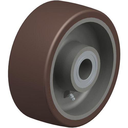 rueda con aro / de poliuretano / para grandes cargas / antihuellas