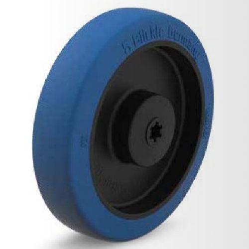 rueda con aro / de poliuretano / para productos alimentarios / de bajo ruido