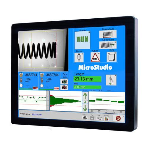 sistema de medición de diámetro / de longitud / de vídeo / para control