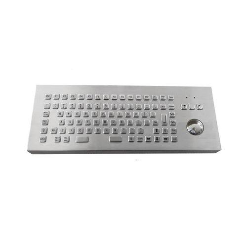 teclado de mesa / de tecla mecánica / con trackball / con ratón